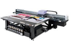 UV-based Flatbed Printers Example