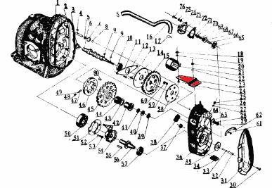 Ignition coil clamp ::: Ural Dnepr CJ750 parts