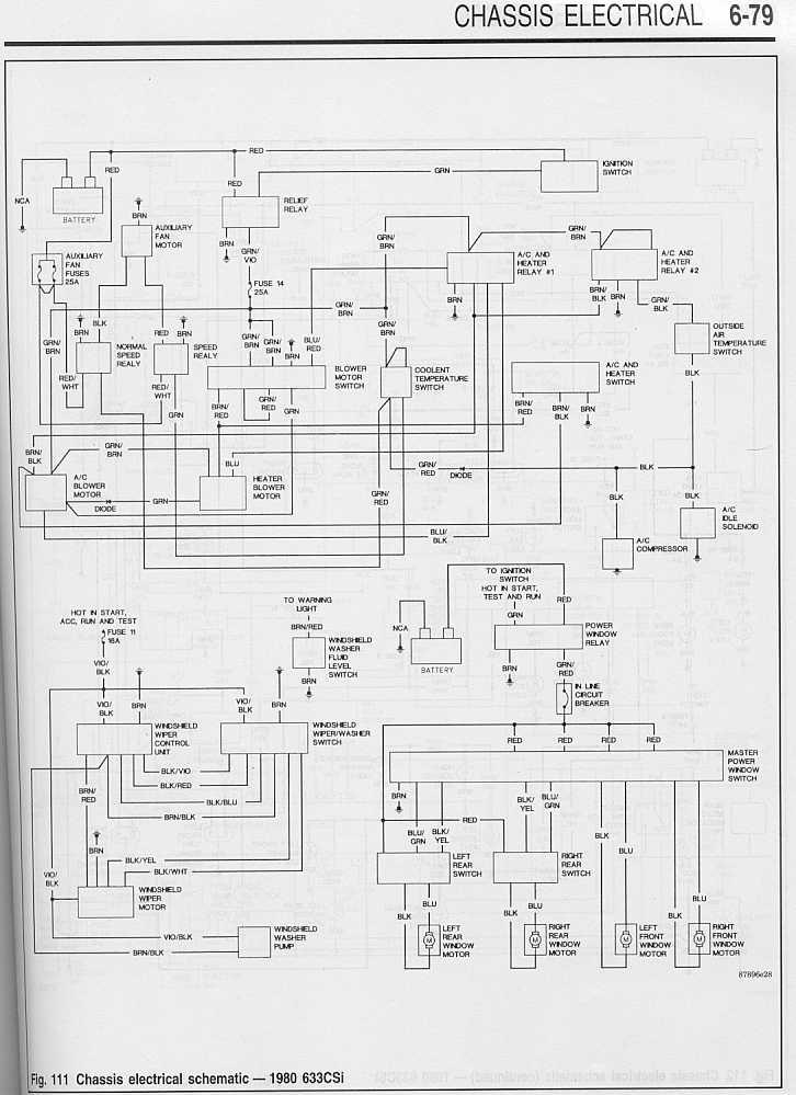 80_633CSi_Wiring_Diagram 2 « SIDE DRAFT SIX