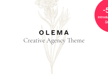 Photo of Olema – Creative Agency Theme