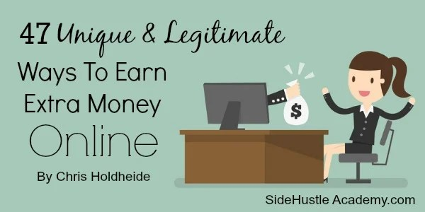 ways to earn extra money online