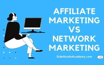 Is Affiliate Marketing the Same as Network Marketing?