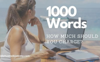 How Much Should You Charge for a 1000 Word Article?