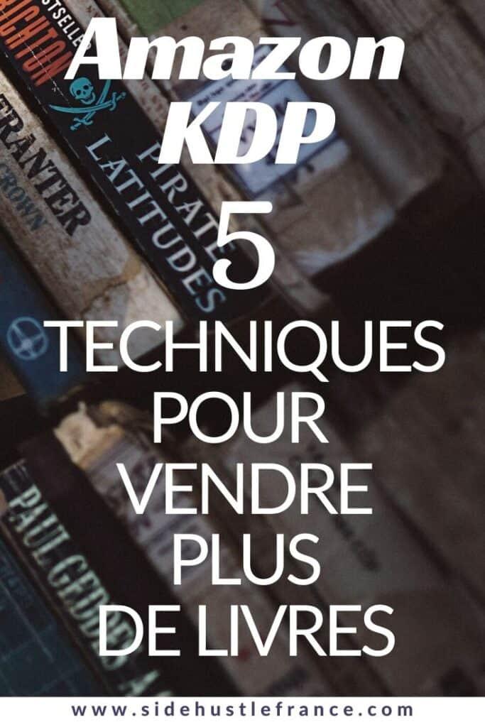 Vendre Ses Livres Sur Amazon : vendre, livres, amazon, Promouvoir, Livres, Amazon, Hustle, France