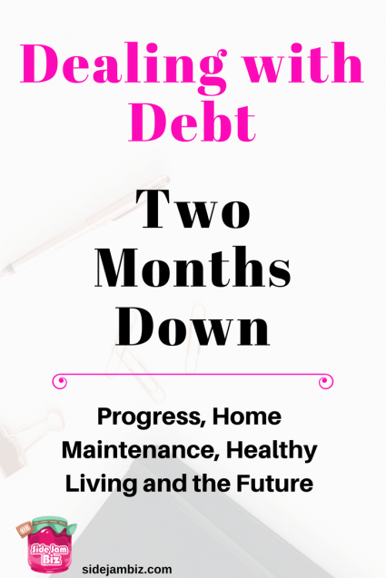Paying off credit card debt - Progress made in month two of my debt payment journey. How to get out of debt and prioritize finances. What tools to help keep track of your outstanding debt so you can pay it off quicker.