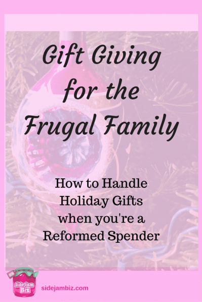 Gift Giving for the Frugal Family