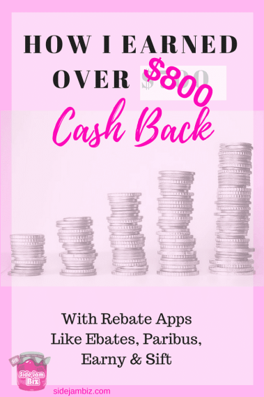 How to Use Rebate Services like Earny, Ebates, Paribus and Sift