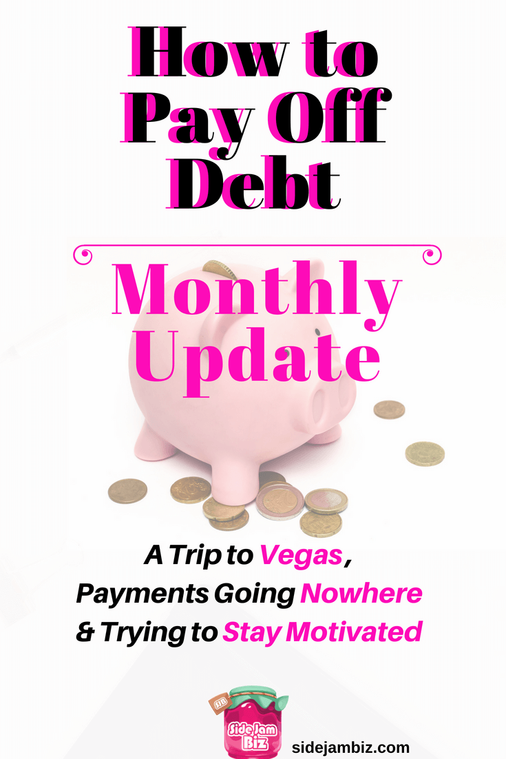 How to Pay Off Debt - Monthly Update | How to deal with life -- A trip to Vegas, making payments that seem to go nowhere and trying to stay motivated #debt #financetips #creditcards #payoffdebt #getoutofdebt #moneytips