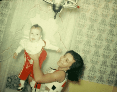 Mom - some time in 1974