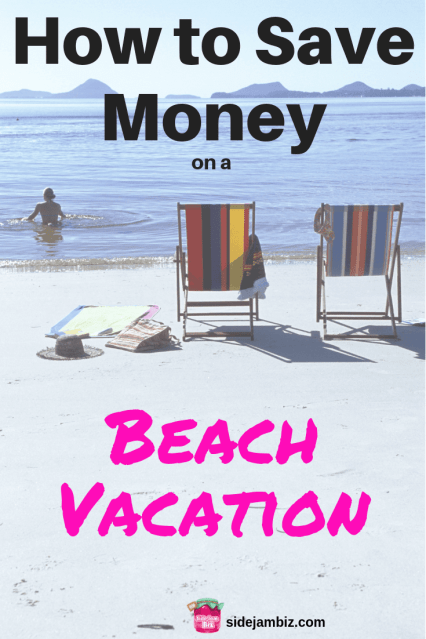 How to Save Money on a Beach Vacation -- Tips and ideas to make the most of vacation without losing your shirt in the process #savemoney #beach #vacation #summer #frugalliving #frugality #moneysavingtips