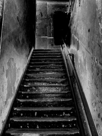 scary staircase - horror movies