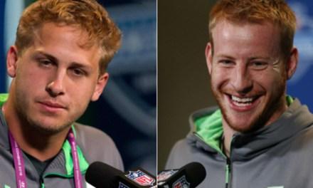 Carson Wentz vs. Jared Goff – QB Prospects