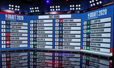 NBA 2020 Draft Board