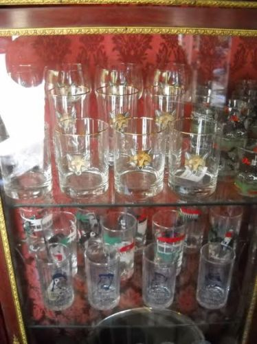 Glasses with foxhunting scenes are highly sought after by foxhunters.