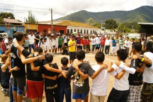 A JustWorld partner organization in Guatemala.