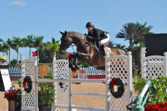 Skylar and Modern Music at the Holiday and Horses Show. (Photo by Bridgette Ness)
