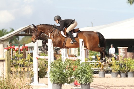 Skylar and Modern Music in the Low Junior Jumpers at WEF 2015. (Photo by Bridgette Ness)