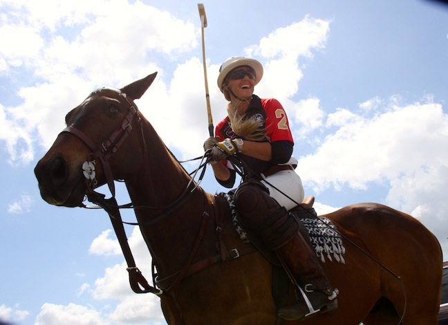 Pepsi, one of Kerstie's favorite polo ponies. (Photo by Sheryel Aschfort, The Polo Paparazzi)