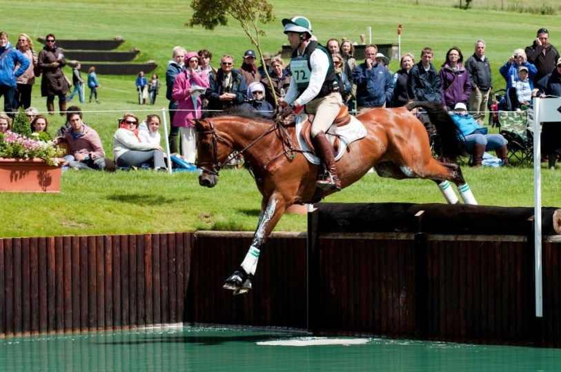 Olympic eventer, Will Coleman, riding with MDC stirrups. (Photo courtesy of MDC)
