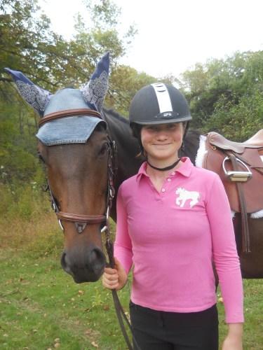 Shya and her OTTB, Matt Dillon-US Marshal