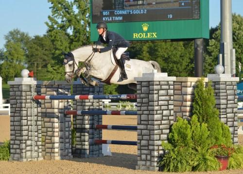 Kyle at the Kentucky Horse Park in Lexington, Kentucky. Photo by Shawn McMillen Photography