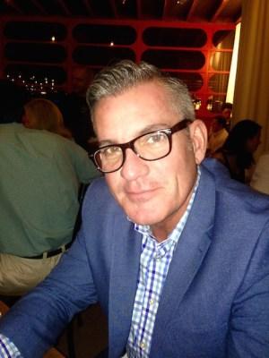 Bradley Spragg — new publisher of Sidelines Magazine.