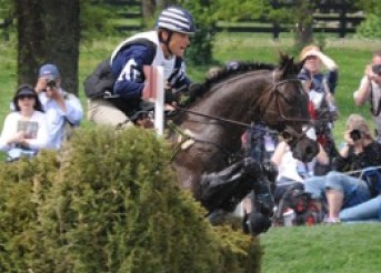 Remington XXV and Boyd competing in 2012 at the Kentucky Rolex Three-Day Event. Photo by Lauren R. Giannini