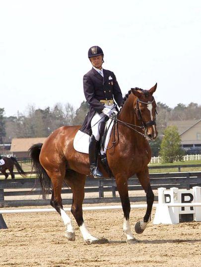 Hokan and Gabrielle competing in Aiken, South Carolina. Photo by Richard Ruben