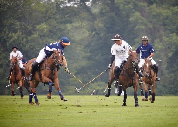 Kris, front left, is back in the saddle and playing again. Photo by ChiChi Ubina