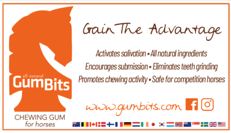 All natural Gum Bits - Chewing Gum for horses