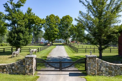 75-Acre Horse Farm Surrounded by Pastoral Hills