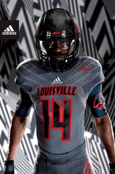 Louisville Football Uniform