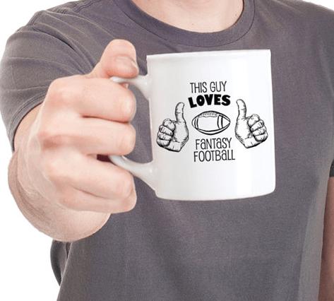 Father's Day Sideline Socialite Fantasy Football Mug