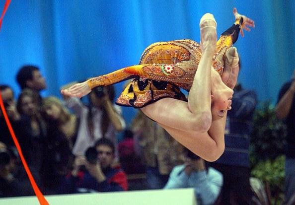 Sideline Socialite Olympics Ribbon Rhythmic Gymnastics