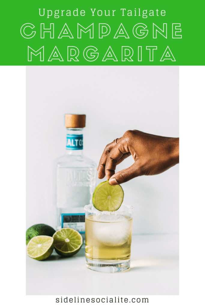Champagne Margarita to Class Up Your Tailgate Sideline Socialite