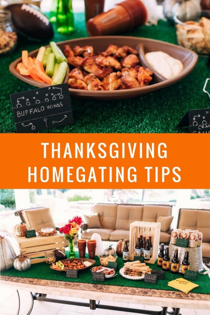 Thanksgiving Homegating Tips