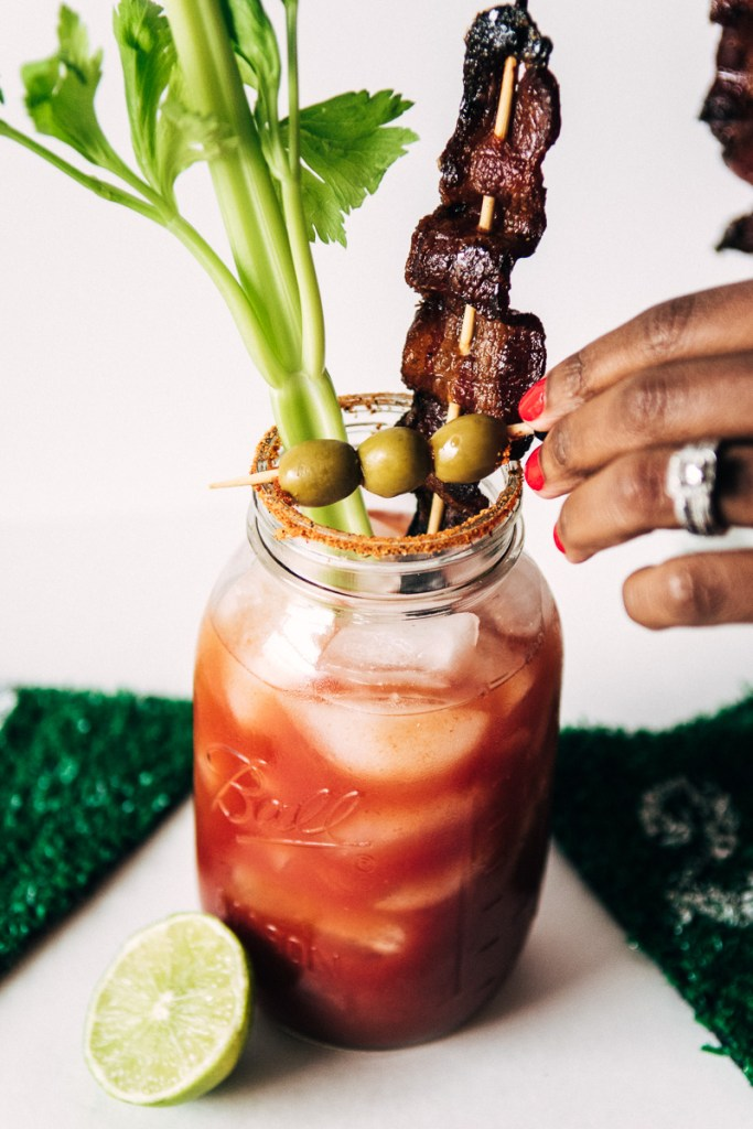 Game Day Recipe: Chipotle Bacon Bloody Mary Sideline Socialite