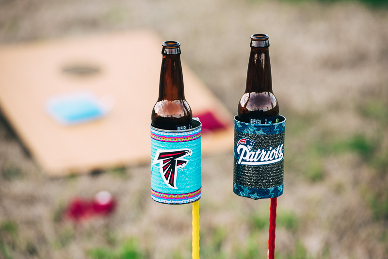 Tailgate DIY Bottle Holder + The Market Street Cornhole Tournament Sideline Socialite