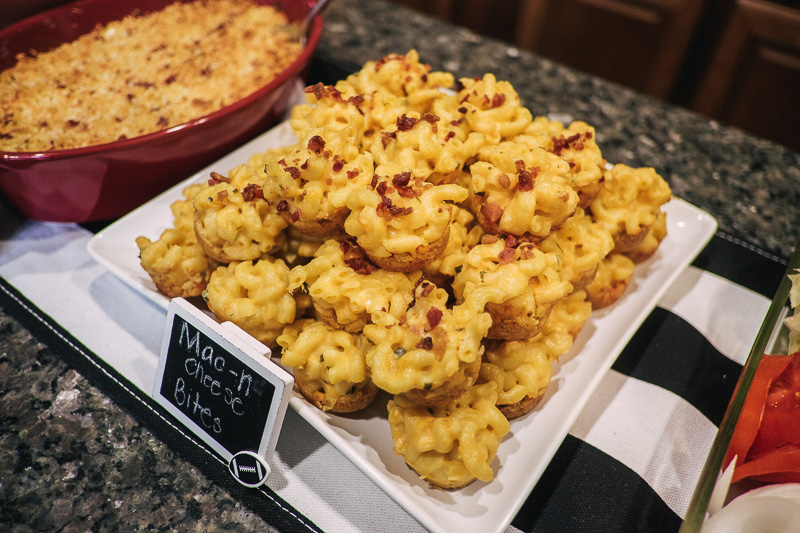 Game Day Recipe: Mac and Cheese Bites Game Day Food, Tailgating, Homegating, Appetizers, Thanksgiving, Mac and cheese Recipe