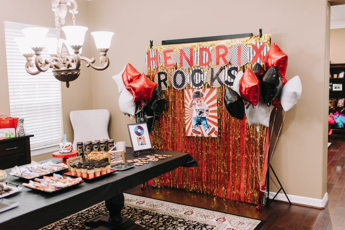 The Best Ever Rockstar Birthday Party On A Budget Rockstar party