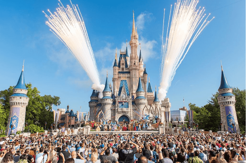 LAKE BUENA VISTA, FL - OCTOBER 01: Walt Disney World Resort marked its 45th anniversary on October 1, 2016 in Lake Buena Vista, Florida.