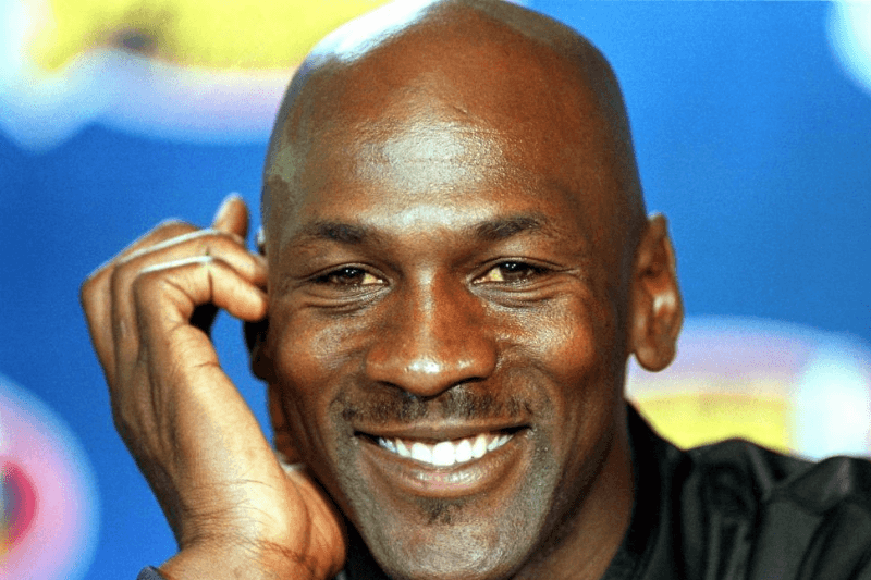 CHICAGO, IL - JUNE 8: In this 08 June 1998 file photo, former Chicago Bulls player Michael Jordan answers questions during a press conference at the United Center in Chicago, IL. Fox Sports reported 31 March 1999 that Jordan, who retired 13 January 1999, is contemplating playing next season for the Charlotte Hornets, the National Basketall Association club in which he is considering purchasing a 50 percent share.