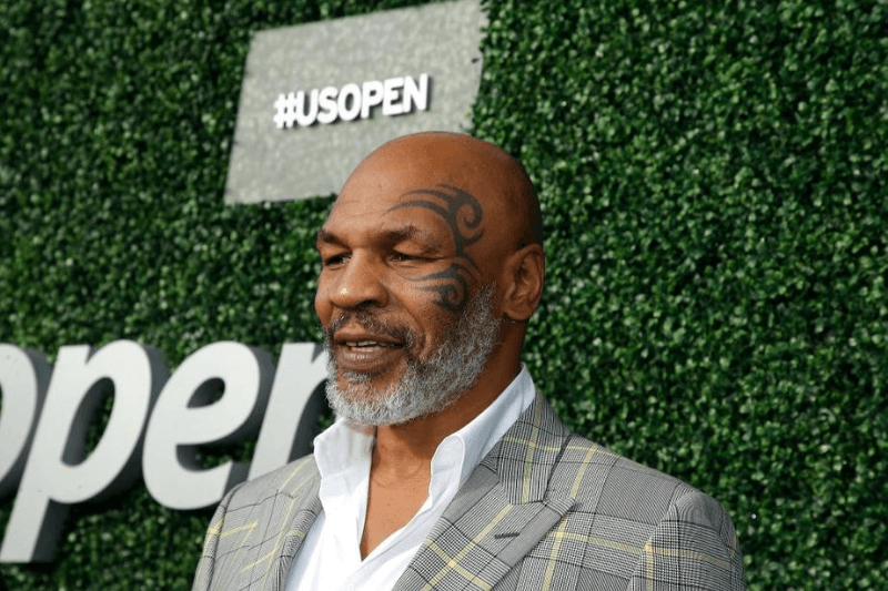 NEW YORK, NEW YORK - AUGUST 26: Former heavy weight boxer Mike Tyson attends USTA 19th Annual Opening Night Gala Blue Carpet at USTA Billie Jean King National Tennis Center on August 26, 2019 in New York City