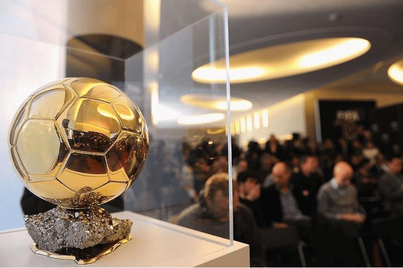 PARIS, FRANCE - DECEMBER 05: The FIFA Ballon D'Or trophy is seen during the FIFA Ballon D'Or Press conference on December 5, 2011 in Paris, France.