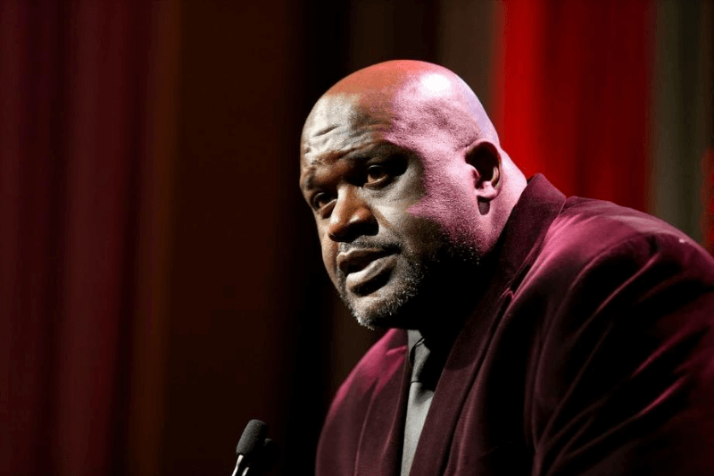 NEW YORK, NEW YORK - DECEMBER 09: Shaquile O'Neal speaks onstage during the Sports Illustrated Sportsperson Of The Year 2019 at The Ziegfeld Ballroom on December 09, 2019 in New York City.
