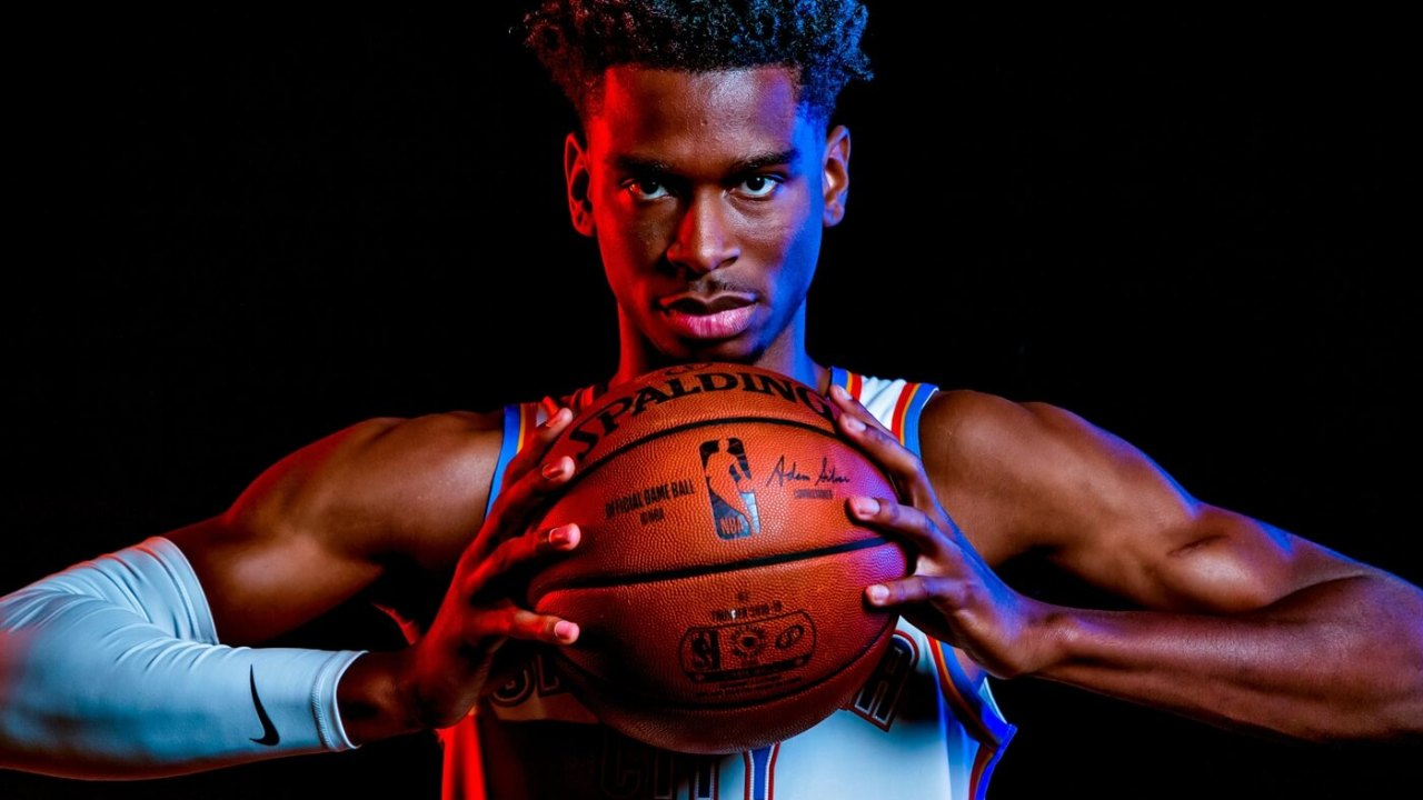 Shai Gilgeous-Alexander and the Thunder will play in the same home arena next season, but it will likely have a new name. Thunder Media Day