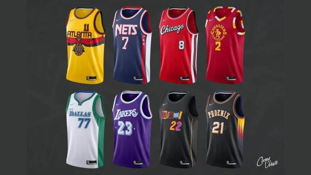 """Potential """"Mash-Up"""" City Edition Jerseys Leaked For 2021-22 NBA Season"""