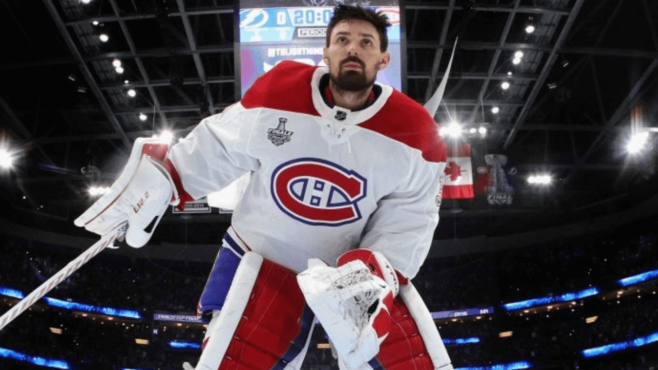 TAMPA, FLORIDA - JUNE 28: Carey Price #31 of the Montreal Canadiens prepares to tend net against the Tampa Bay Lightning during Game One of the 2021 NHL Stanley Cup Finals against the Tampa Bay Lightning at Amalie Arena on June 28, 2021 in Tampa, Florida. (Photo by Bruce Bennett/Getty Images)