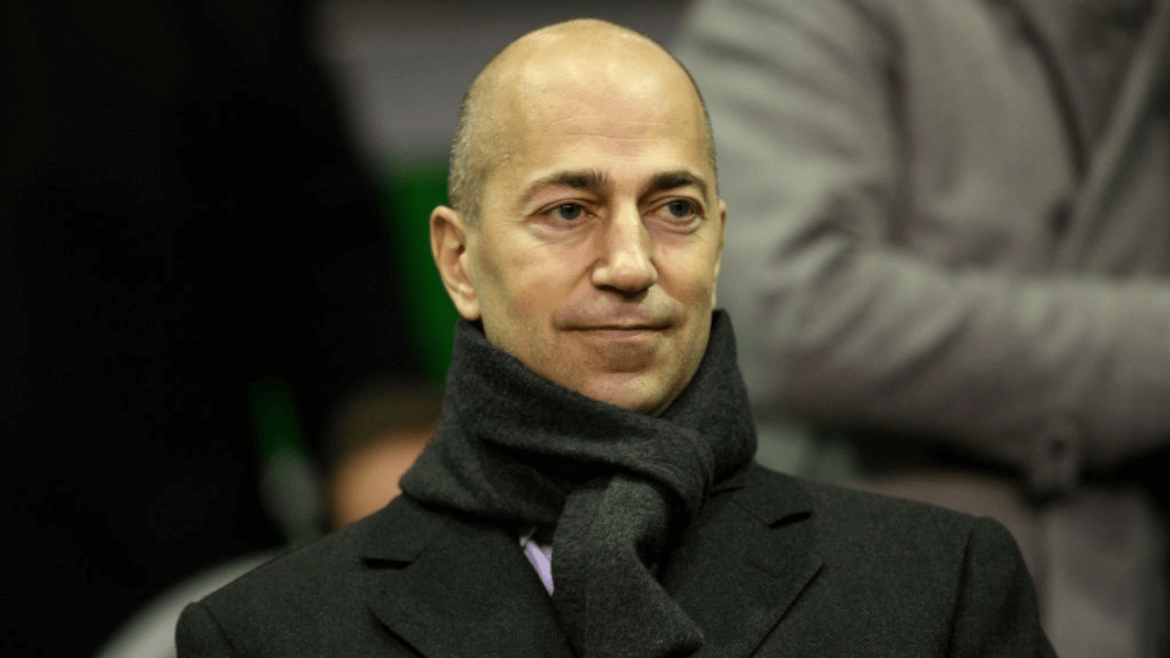 Arsenal Chief Executive Ivan Gazidis in the stands at Anfield (Photo by Mike Egerton - PA Images via Getty Images)
