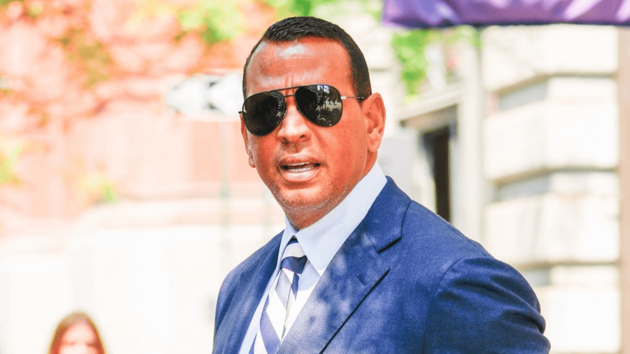 NEW YORK, NEW YORK - JULY 15: Alex Rodriguez seen on July 15, 2021 in New York City. (Photo by Gotham/GC Images)